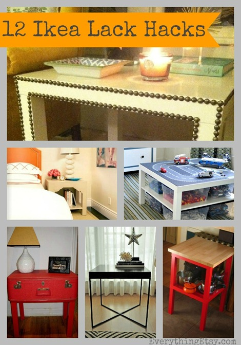 Godiy Ikea Lack Table Hacks 12 Inspiring Diy Projects