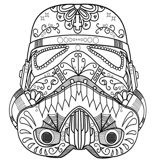 Star Wars Free Printable Coloring Pages for Adults & Kids ...